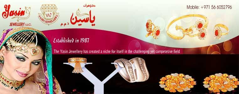 Yasin Jewellery LLC Banner