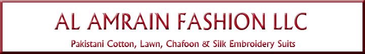 Al Amrain Fashion LLC Banner